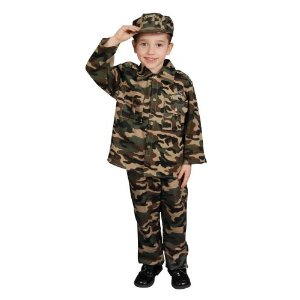 Kids Army Costume