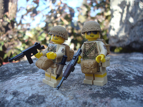 101st Airborne Division army minifigs