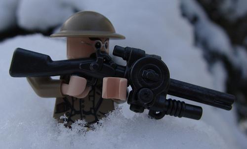 Snowy combat