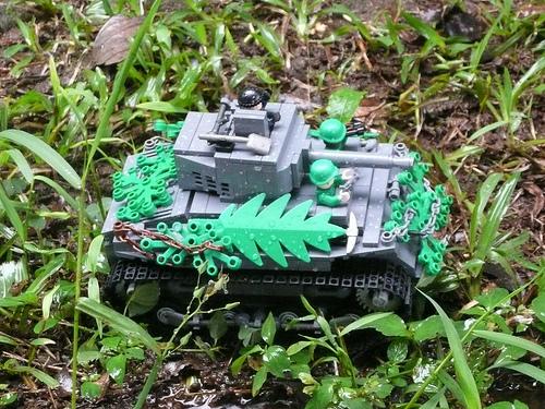 Lego M4 Sherman Tank