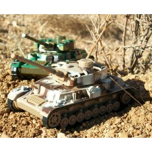 Diecast Toy Tanks