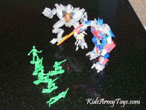 Fighting Transformers