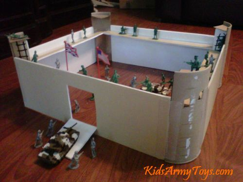 How To Build A Kids Army Toy Fort