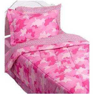 although most kids camo bedding - Pink Camo Bedding